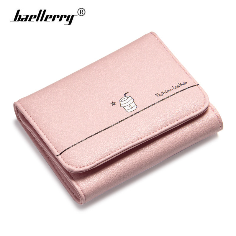 Baellerry Women Wallets Purses 2017 Designer Small Leather Purse Wallet Female Famous Brand Card Holders Fashion Wallet for Lady
