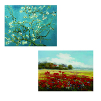 140x187cm 1 piece 150x190cm 1piece Oil Painting Reproductions on Canvas Posters and Prints Wall Art Picture for Living Room