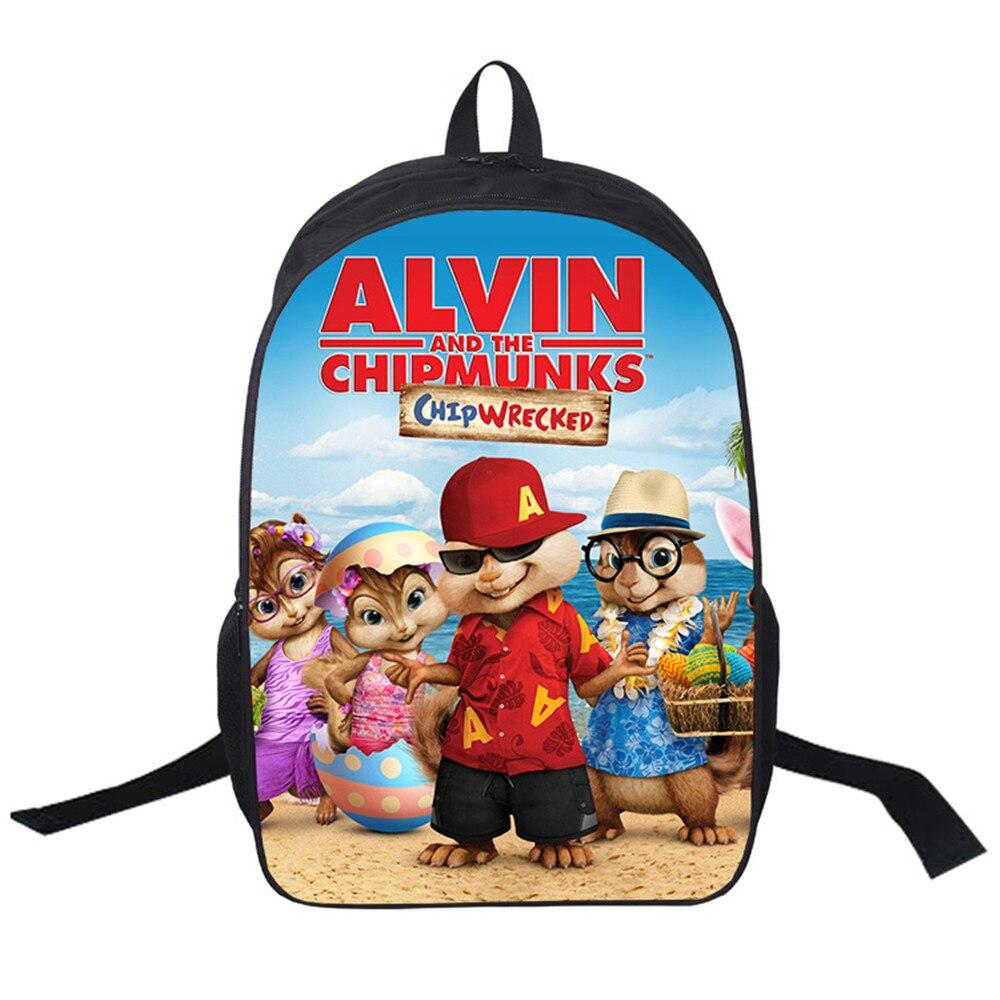selezione premium c04f3 7b529 2019 Borse da Donna moive Alvin And the Chipmunks Zaino ...