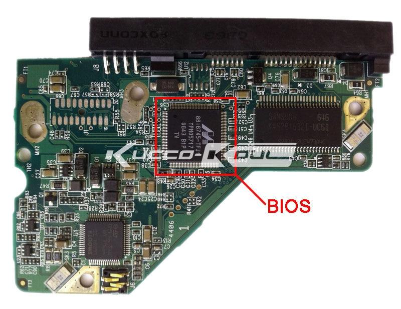 HDD PCB տրամաբանական տախտակ 2060-701477-002 REV A - Համակարգչային բաղադրիչներ - Լուսանկար 2