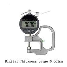 0.001 мм Электронный Толщиномер 10 мм Цифровой Микрометр Толщиномер Micrometro Ширина Измерительные Приборы Вывода Данных