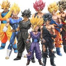 Мастер звезды кусок 23-34 см манга размеры Dragon Ball Z Вегета Сон Гоку сон Гохан ПВХ фигурка MSP модель куклы бриквидс