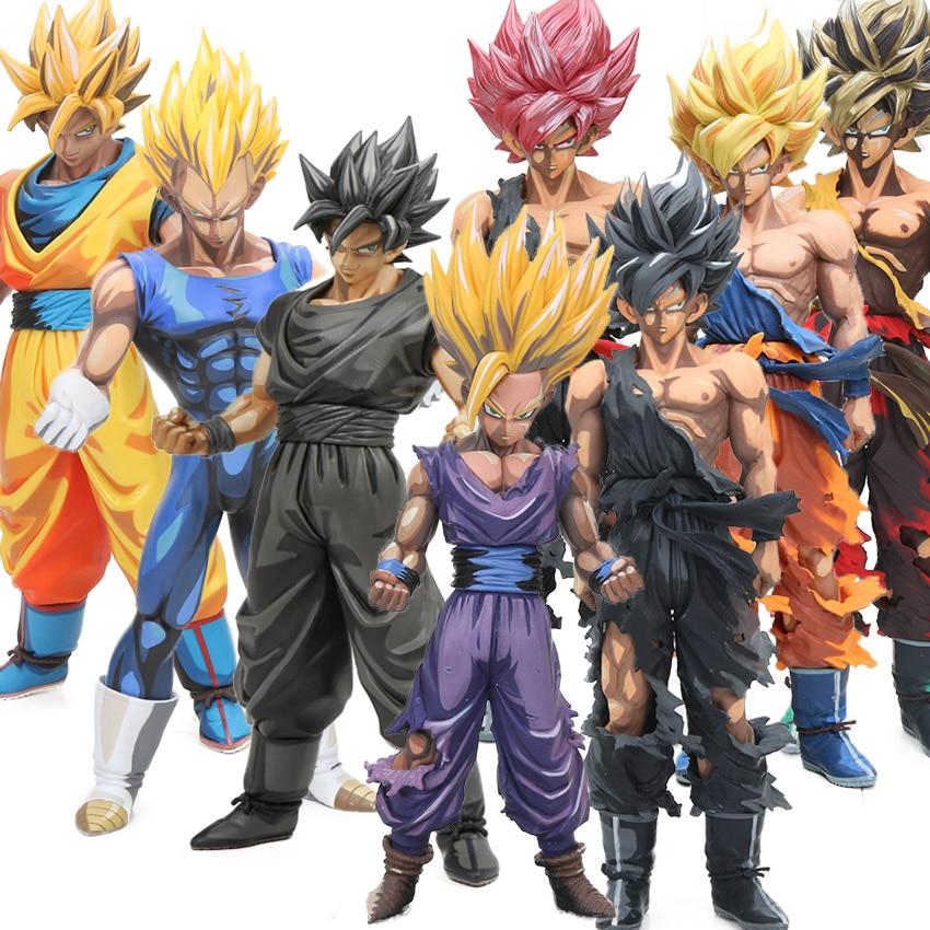 Master Stars Piece 23 34cm Manga Dimensions Dragon Ball Z Vegeta Son Goku Son Gohan PVC
