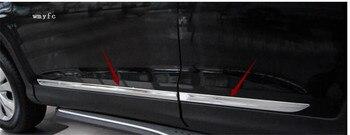 Аксессуары, пригодный для HONDA CRV CR-V 2012 2013 2014 2015 2016 хромированная Боковая дверь корпус литья отделка крышки линии гарнир протектор >> Shop3218038 Store