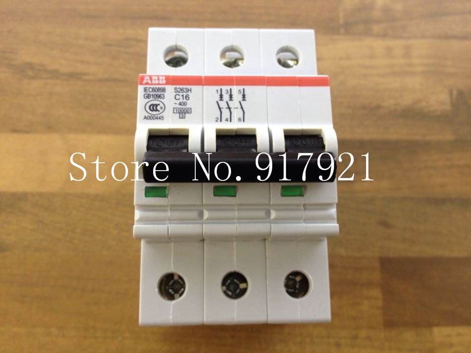 [ZOB] original S263H C16 3P16A new authentic miniature circuit breaker  --5pcs/lot