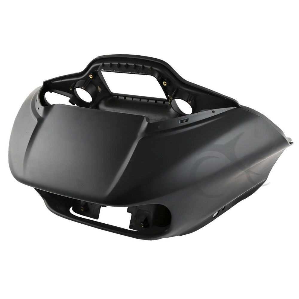 Covers & Ornamental Mouldings Loyal Motorcycle Abs Black Inner & Outer Fairing For Harley Road Glide Fltrx 2015-2018 2016 2017 Black/matte Black To Be Renowned Both At Home And Abroad For Exquisite Workmanship Skillful Knitting And Elegant Design