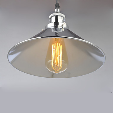 Edison Bulb Rustic Retro Loft Style Industrial Lamp Vintage Pendant Light Polished Nickel,Lustre Para Sala edison loft style vintage light industrial retro pendant lamp light e27 iron restaurant bar counter hanging chandeliers lamp