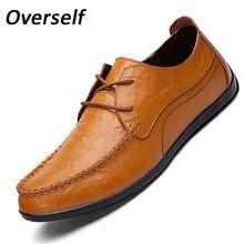 2017 Zapatos de Los Hombres Formales de Alta Calidad punta redonda cordón de cuero de moda Casual zapatos planos Marrón Vintage Hombre Italiano zapatos De Vestido