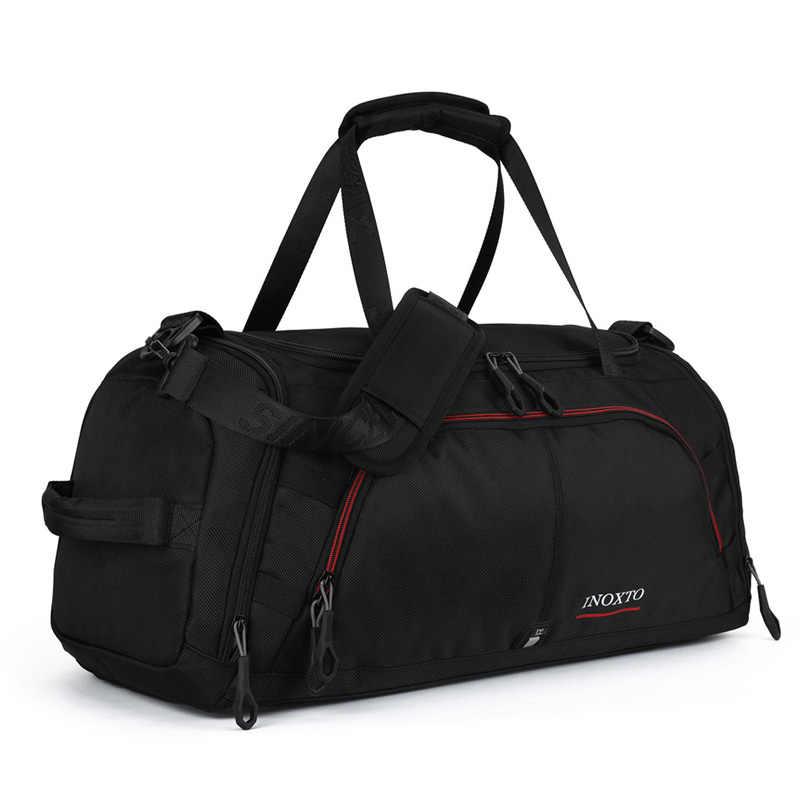 Erkekler kadınlar açık spor spor çanta ayakkabı depolama eğitim Fitness İşlevli omuz çantaları seyahat el çantası terylen 20L-35L