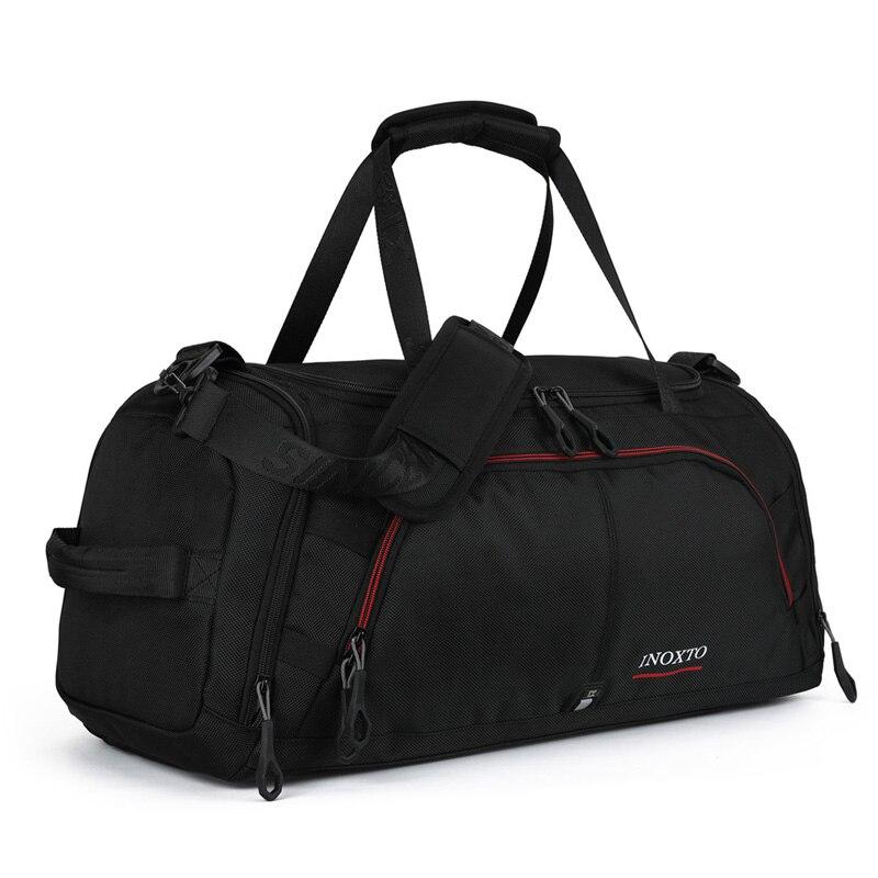 Hommes femmes Sports de plein air sac de sport avec chaussures stockage formation Fitness multifonction sacs à bandoulière voyage sac à main terylène 20L-35L