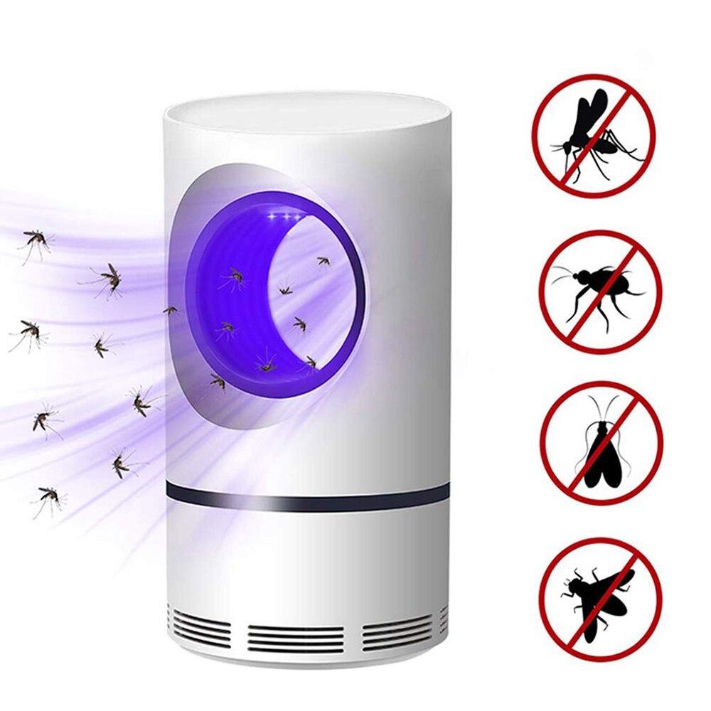 5W USB Bertenaga Listrik Fotokatalitik Anti Nyamuk Pembunuh Lampu UV Photocatalys Bug Perangkap Serangga Lampu Pengendalian Hama Penolak