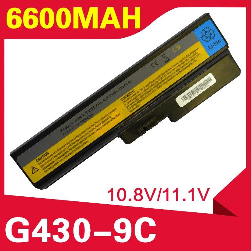 6600mAh battery for Lenovo B460 B550 G430 G430A G430L G430M G450 G450 G450A G450M G455 G530 G530A G530M G550 G555 N500 B460