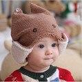 2014 bebé de moda invierno del bebé del sombrero casquillo infantil tapas algodón sombreros