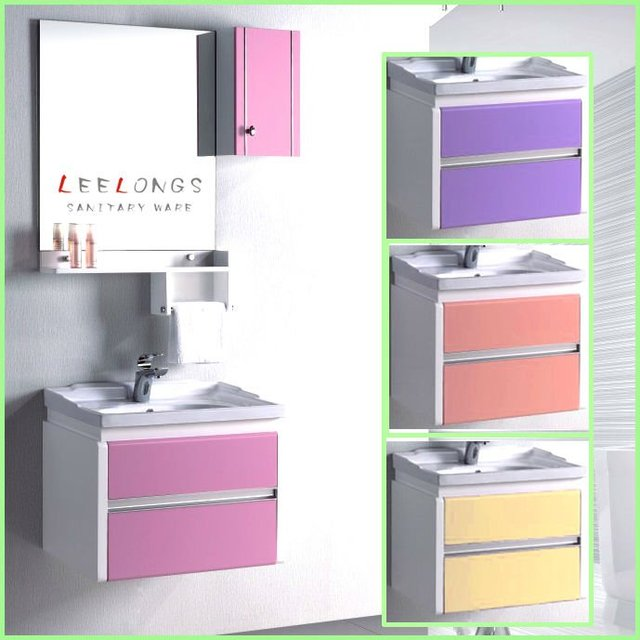 Practical Fast moving PVC Bathroom Vanity Cabinet