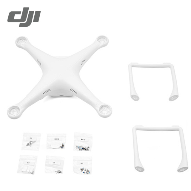 DJI Phantom 3 Shell Includes Top Bottom Covers Sta For P3