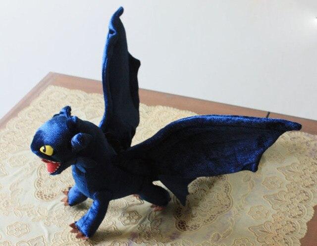 1 ШТ. Как приручить Дракона плюшевые игрушки Символов Беззубый Ночь Fury плюшевые куклы новый 39 см Бесплатная доставка