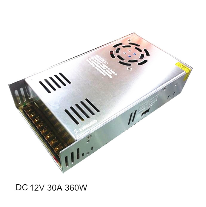 360W 12V 30A Switching Power Supply for CCTV or LED Driver 15pcs dc12v 30a 360w switching power supply adapter driver transformer for cctv security cameras lcd monitor