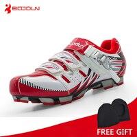 Boodun Professional Athletic Shoes Xe Đạp Giày MTB Cycling Giày Dép Nam Giày Tự Khóa Xe Đạp Giày sapatilha ciclismo MTB