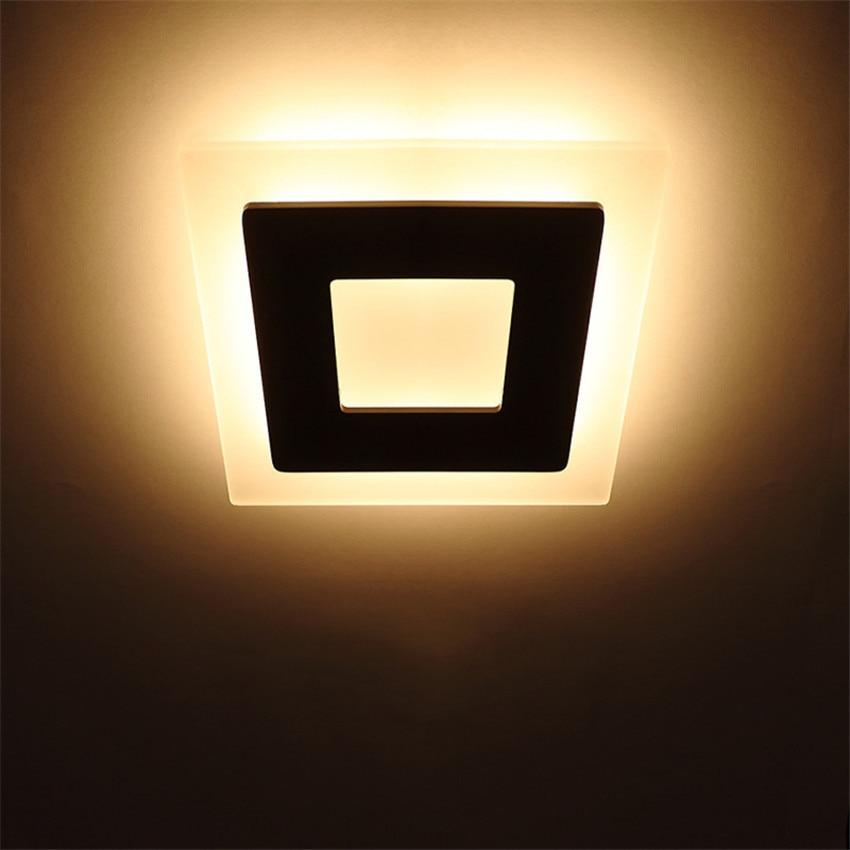 18 watt LED Deckenleuchte Aluminium Acryl Wohnkultur Deckenleuchte - Innenbeleuchtung - Foto 2