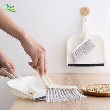 Set Shovel Broom Cleaning-Brush Dustpan Mini Trash Desktop Combination Summary