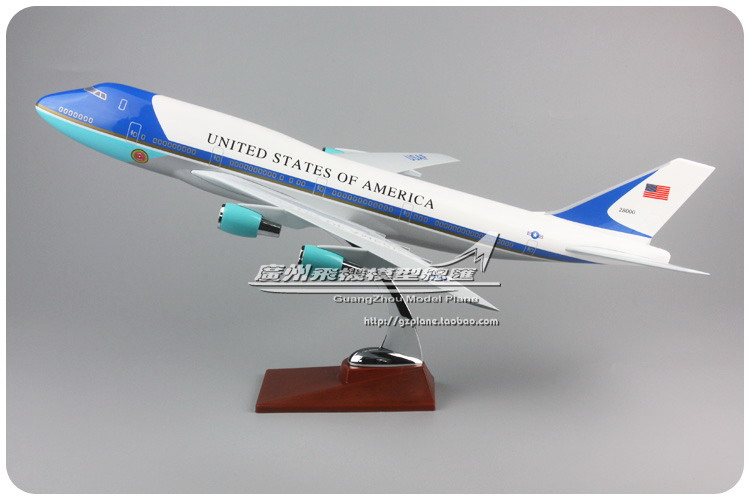 47cm Resin United States Airways Airplane Model Boeing 747 Air Force One Airlines B747 28000 Model Airbus Aircraft Plane Model chic multilayered geometric bullets choker page 4