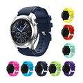 2016 Спорт Силиконовые Часы Группы Ремешок для Samsung Galaxy Gear S3 Классический SM-R770 S3 Границы SM-R760 SM-R765 Смарт-Ремешок Для Часов