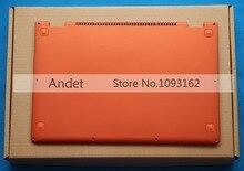 Neue Original für Lenovo Ideapad Yoga 13 Basis Untere Abdeckung Orange Kleinbuchstaben mit Lautsprecher L + R Drahtlose Antenne 11S30500246