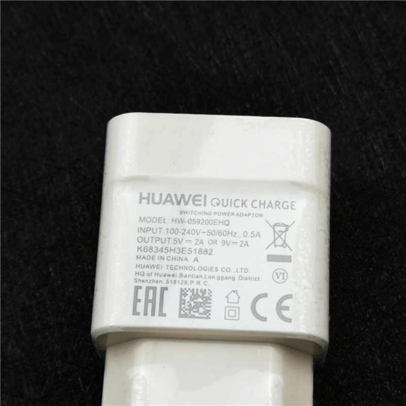 Оригинальный ЕС huawei mate 20 lite быстрое зарядное устройство QC 2,0 Быстрая зарядка с переходной USB кабель для p20 p10 p9 Lite Nova 3 3i 3e 4 Honor 8 8x