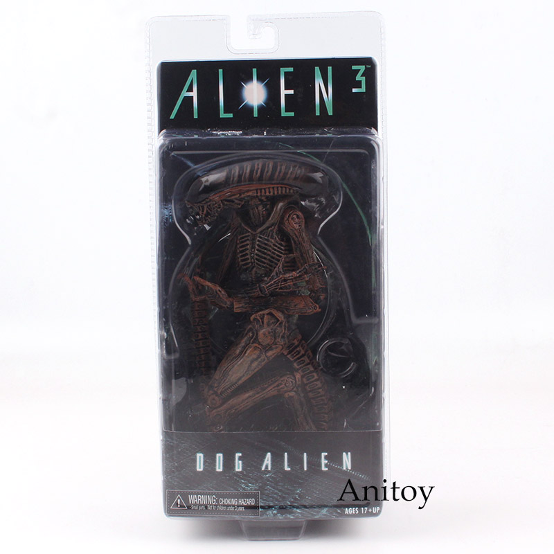 NECA Figure Alien 3 Dog Alien PVC Action Figure Collectible Model Toy 20cm KT4777 free shipping neca godzilla movie 2014 2001 1954 pvc action figure classic collectible model toy kt3380
