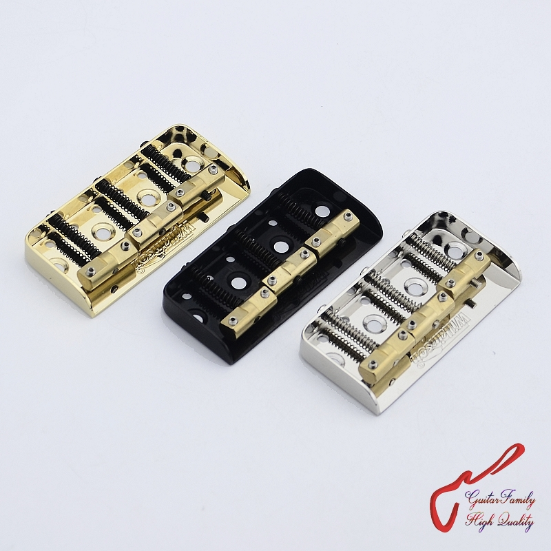 цена 1 Set Original Genuine Wilkinson WTBS Short Vintage Type Fixed Electric Guitar Bridge With Brass Saddles   MADE IN KOREA онлайн в 2017 году
