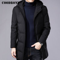 COODRONY Winter Jacket Men Thick Warm Hooded Parka Men 2018 New Arrival Winter Coat Men Brand Casual Long Jackets And Coats 8821