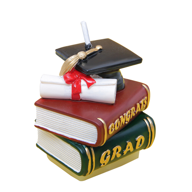 Graduation Ceremonies, Books, Doctor Hats, Birthday Cakes, Candles, Nursery Parties, Decorations, Small Gifts