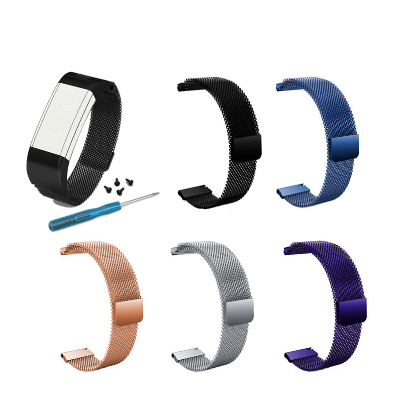 Wrist Strap Watchband Replacement For Garmin Vivosmart HR Plus For Approach <font><b>X10</b></font> X40 Smart Bracelet Bands Wristband 1ew image