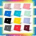 Mosiso Черный Матовый Пластик Твердый Переплет Чехол для Macbook Pro 13.3 15.4 Для Pro 13 15 дюймов Retina display Для Ноутбука Ясно Shell случае