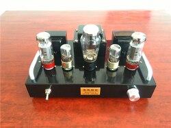 DIY HIFI 6N9P EL34 Spartan X1 6.5 W + 6.5 W wzmacniacz lampowy zestaw Stereo próżniowe Amp