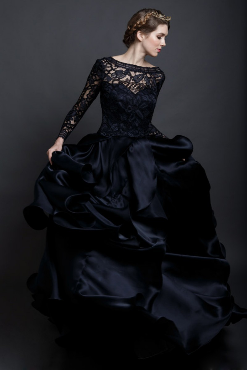 black and white wedding dresses wedding dresses black
