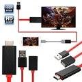 Fanshu usb type c Micro адаптер HDMI VGA кабель 1080P HDTV Adaptador для iPhone iPad samsung Android huawei конвертер гаджет