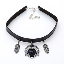2018 New Fashion Bohemian choker necklace  set alloy  pendant necklace jewelry colours Ancient silver and black beadsnecklace new i love football fencing helmet charm pendant necklace alloy ancient silver fashion women