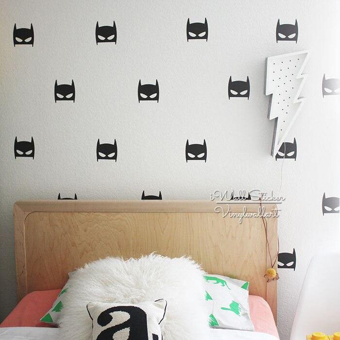 Baby Nursery Batman Wall Sticker Batman Wall Decal DIY Children Wall Decors Kids Room Stickers Cut Vinyl P32