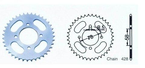 motocicleta da roda dentada motor roda dentada