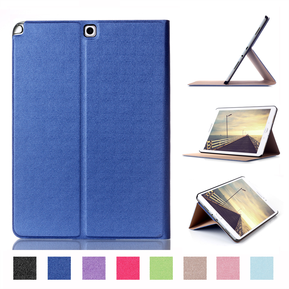 PU Leather Smart Cover For Samsung Galaxy Tab A 9.7 SM-T550 SM-T555 SM-P550 SM-P555 Case For Samsung Galaxy Tab A 9.7 Case аксессуар чехол samsung galaxy tab a 9 7 sm t550 palmexx smartslim иск кожа black px stc sam taba t550 blac