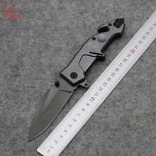 Dcbear High Quality MF2 Folding Knife 3CR13MOV 54HRC Coating Tactical Outdoor Tools Camping Pocket Knives GF04#