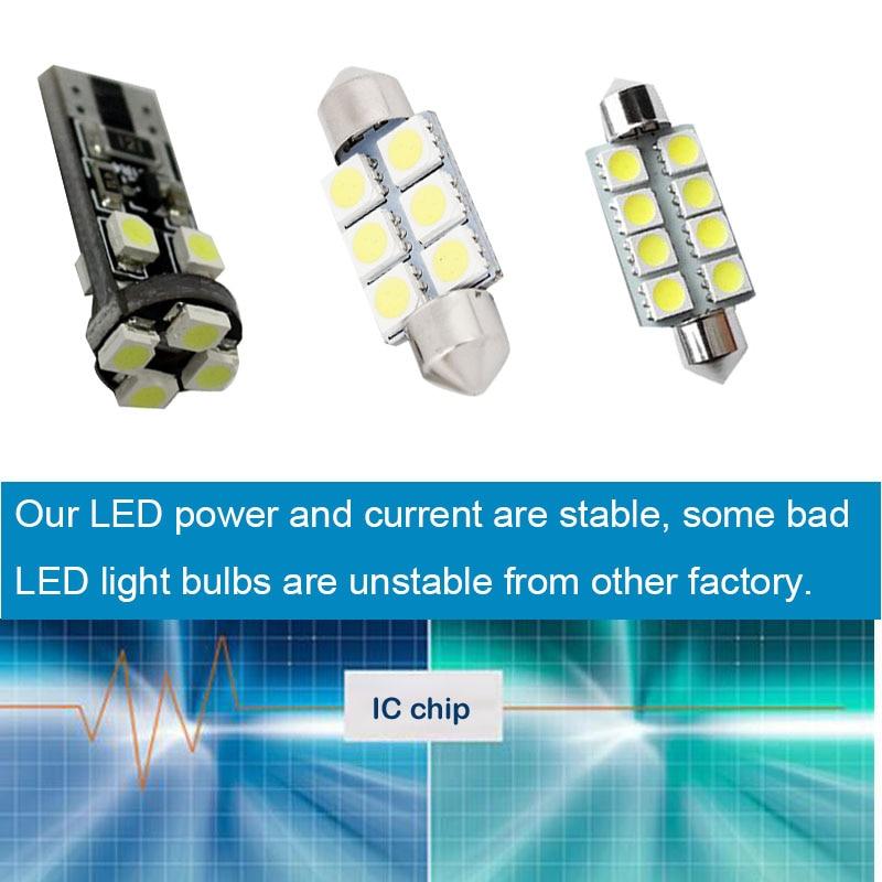 Myhung Canbus λευκό φως LED Πακέτο εσωτερικού - Φώτα αυτοκινήτων - Φωτογραφία 4