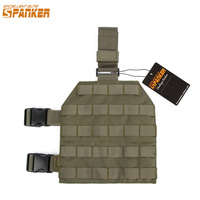 EXCELLENT ELITE SPANKER EDC Outdoor Tactical Legs Hanging Plate Hunting Leg Panel Molle Military Sets Slingshot Hanging