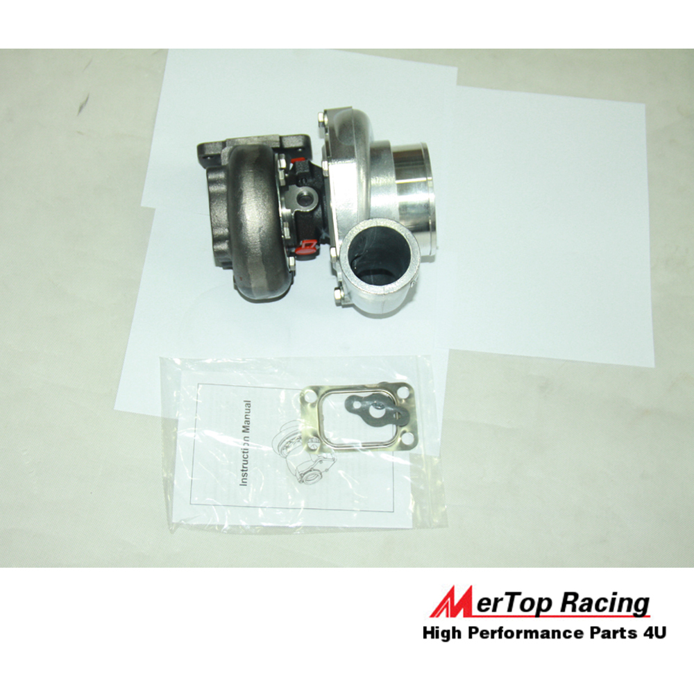 MerTop Race GT35 BALL BEARING A/R  70 T3 INLET FLANGE TURBO EXHAUST  MANIFOLD TURBOCHARGER