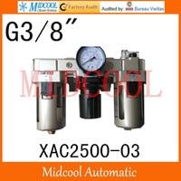 Hoge kwaliteit XAC2500-03 serie luchtfilter combinatie frl 4-poorts g3/8