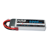 2pcs HRB RC Battery 11 1V 5000mAh 50C 100C 3S Lipo Battery For RC Helicopters Airplane