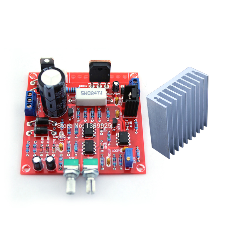 2in1 Free Shipping 0-30V 2mA - 3A Adjustable DC Regulated Power Supply DIY Kit  + Radiator Aluminum Heatsink2in1 Free Shipping 0-30V 2mA - 3A Adjustable DC Regulated Power Supply DIY Kit  + Radiator Aluminum Heatsink
