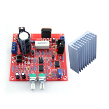 2in1 Free Shipping 0-30V 2mA - 3A Adjustable DC Regulated Power Supply DIY Kit + Radiator Aluminum Heatsink