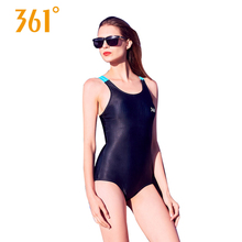 361 Women One Piece Swimsuits Sexy Triangle Swimwear Bikini Professional Sport Swimming Suit Ladies Back Cross Bandage Bathing
